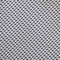 GIORGIO ARMANI Mens Gray Lilac White GEOMETRIC Woven Silk Tie Italy EUC