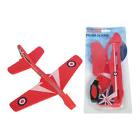 RAF Royal Air Force Red Arrows Foam Glider Plane with Catapult