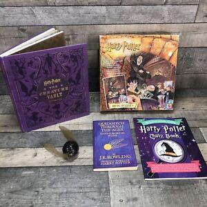 Harry Potter Gift Set 260pc Magic Decoder Puzzle Mattel Plus 3 Book Bundle