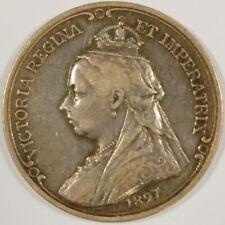 1897-QUEEN VICTORIA DIAMOND JUBILEE-SILVER MEDAL