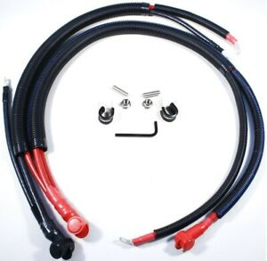 1998-2002 Chevrolet Camaro Z28 SS LS1 Battery Cables Upgrade Set HT-9802CLSBC