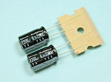 8pcs Rubycon YXA 2200uf 6.3v 105c Radial Aluminum Electrolytic Capacitor 2200mfd