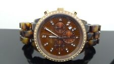 Michael Kors Women's MK5366 Showstopper Classic Chronograph Tortoise Watch