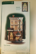 """Heritage Village Collection """"Foster Pharmacy"""" Department 56"""