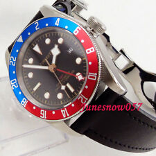 41mm corgeut GMT men's watch Sapphire glass date luminous Automatic dive watch