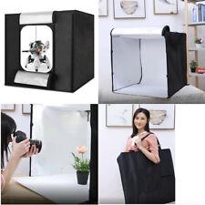 Folding Photo Studio Light Box Portable Photography Cube LED Lighting Tent 40cm