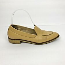 e83c4405515 Everlane Womens Modern Loafer Tan Leather Slip On Loafer Size 6.5