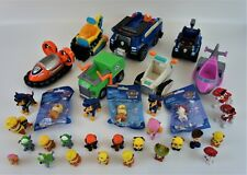 Paw Patrol Cars & Figures Lot Chase Marshall Zuma Sky Rubble