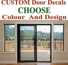 SLIDING GLASS DOOR STICKERS HAZARD PROTECTION DECALS SAFETY STICKER DECAL