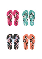 ROXY FLIP FLOPS 100% GENUINE,LADIES,Water Sports, for walking on sand and roads