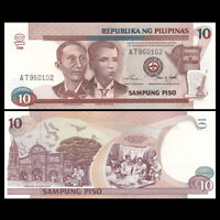 Philippines 10 Piso Banknote, 1998, P-187c, UNC, Asia Paper Money