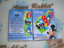 1 Deck DISNEY MICKEY MOUSE BICYCLE PLAYING CARDS BRAND NEW S1073520