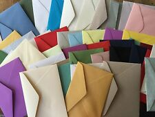 C6 Envelopes x50 -Assorted mixed pack of metallic, white, coloured and textured