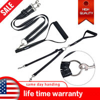 Heavy Duty Double Dog Leash Durable 360° No Tangle Leading Leash For Two Dogs