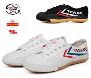 Feiyue Original Lo Parkour Training Martial Arts Wushu Sneakers Kung Fu Shoes DE