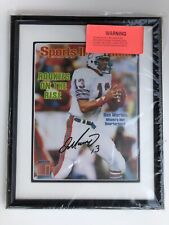 Dan Marino Signed 1983 Sports illustrated Cover Photo Framed Upper Deck UDA