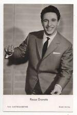 Singer Rocco Granata Vintage RP Postcard 808b