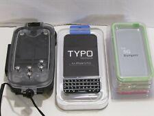 iPhone 5/5c/5s/SE Watershot Underwater Case, Typo Keyboard, 4 Bumper Cases NICE!