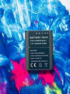 BLN1 Battery for Olympus BLN-1 OM-D E-M5 MARK II PEN-F + 5 YEARS WRT
