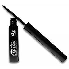 W7 Cosmetics - Aye Aye Captain Intense Slim Line Liquid Dip Eyeliner - Black