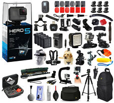GoPro HERO5 Black Action Camera + Mega Accessories Bundle Package