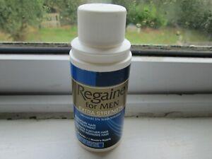 REGAINE FOR MEN 60ml BOTTLE Extra STRENGTH 1 MONTHS Supply 31/03/21 (mm)