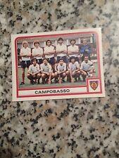 CAMPOBASSO SQUADRA N. 375 album CALCIATORI PANINI 1983 1984 NUOVA CON VELINA