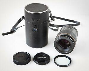 Tamron SP AF Macro 90mm f/2.8 72E Lens for Nikon F, Filter , Case