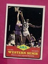 1973-74 TOPPS # 202 ABA PACERS  VS ROCKETS FINALS NRMT-MT CARD (INV# A7682)