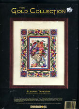 NEW  Dimensions Gold Collection ELEGANT TAPESTRY Cross Stitch Kit    Made in USA