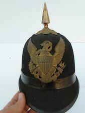 Original US Model 1881 Infantry Spiked Helmet- Made by Horstman Phila - Complete