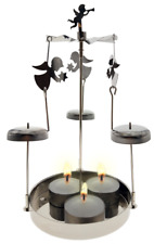 Mobile Chime Tea Light Candle Holder - Angelica