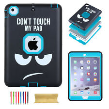 Shockproof Heavy Duty Rubber Hard Back Case Cover For Apple iPad mini1/2/3 Case