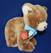 Vintage Hermann Teddy Original Plush Brown Teddy Bear Made In West Germany XLNT