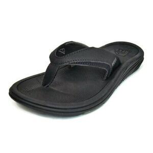 New Men's REEF Modern Flip Flop Sandal Black 2086 US 4