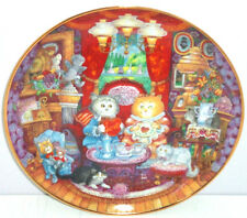Collector Plate Cats Kittens Whisker Wuv Franklin Mint Kitty Bill Bell