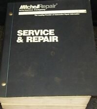 "1995 MITCHELL ELECTRICAL SERVICE & REPAIR MANUAL for Domestic Cars  ""H U G E"""
