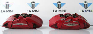 Genuine Used MINI Pair of Brembo JCW Front Calipers for F56 F55 F57 F54 F60