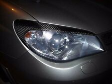 Carbon Fiber Headlight Eyelids Eyebrows for 2006-2007 Subaru Impreza WRX STi