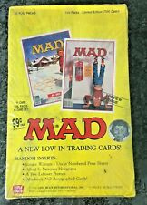 1992 Lime Rock  MAD MAGAZINE Trading Cards  Factory Sealed Box