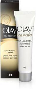 Olay Age Protect Anti Ageing Cream 18g Reduces Wrinkles