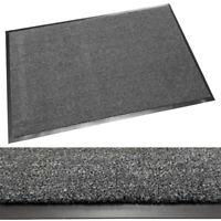 Schmutzfangmatte Fußmatte, hohe Nässeaufnahme, für Gewerbe & Industrie, Grau