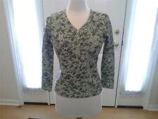 SIZE SP - NEW - WOMENS $19.99 CLASSIC ELEMENTS PETITE Green St. Patrick's Top