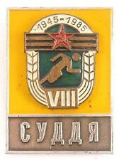 Soviet Russian Pin Badge USSR referee