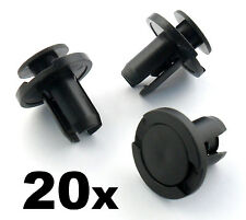 20x 10mm Push Fit Honda Bumper, Grille & Engine Under Tray Trim Panel Clips