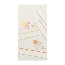 Set lenzuolini ricamato per culla/carrozzina - Jean Somma 030 Rosa