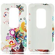 W Autumn Flower Hard Case Phone Cover Sprint HTC EVO 3D