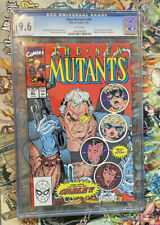 New Mutants #87 CGC 9.6 Mislabeled to New Mutants #98 First Deadpool Super Rare!