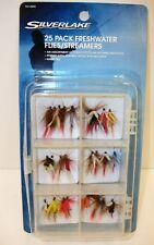 Silverlake 25 Pack Freshwater Flies Streamers - New in Package