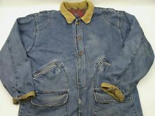 Urban Equipment Men's 2X Country Denim Flannel Lined Coat THICK